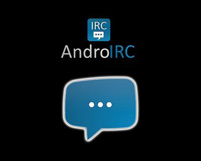 AndroIRC Sohbet Ayarları